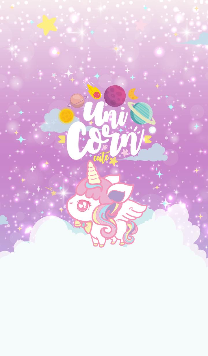 Unicorn Cute Galaxy Star