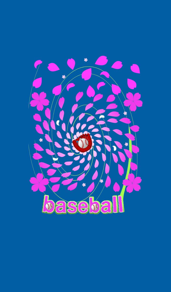 野球着せ替え(桜吹雪編)です