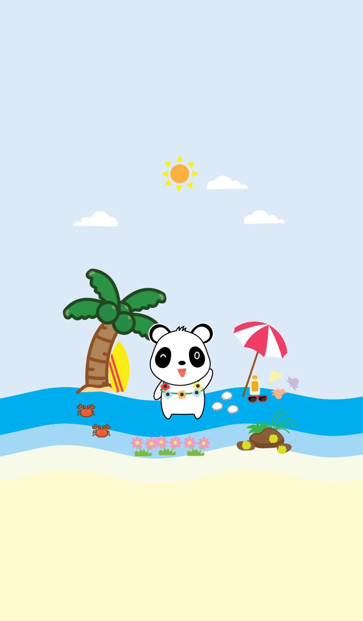 Simple sea panda theme (JP)