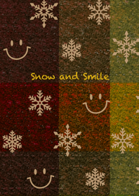 Snow and Smile ~warm color~