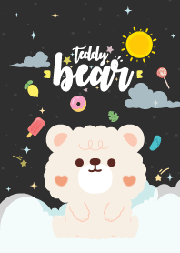 Teddy Bear Baby Black
