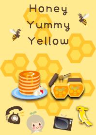Honey Yummy Yellow