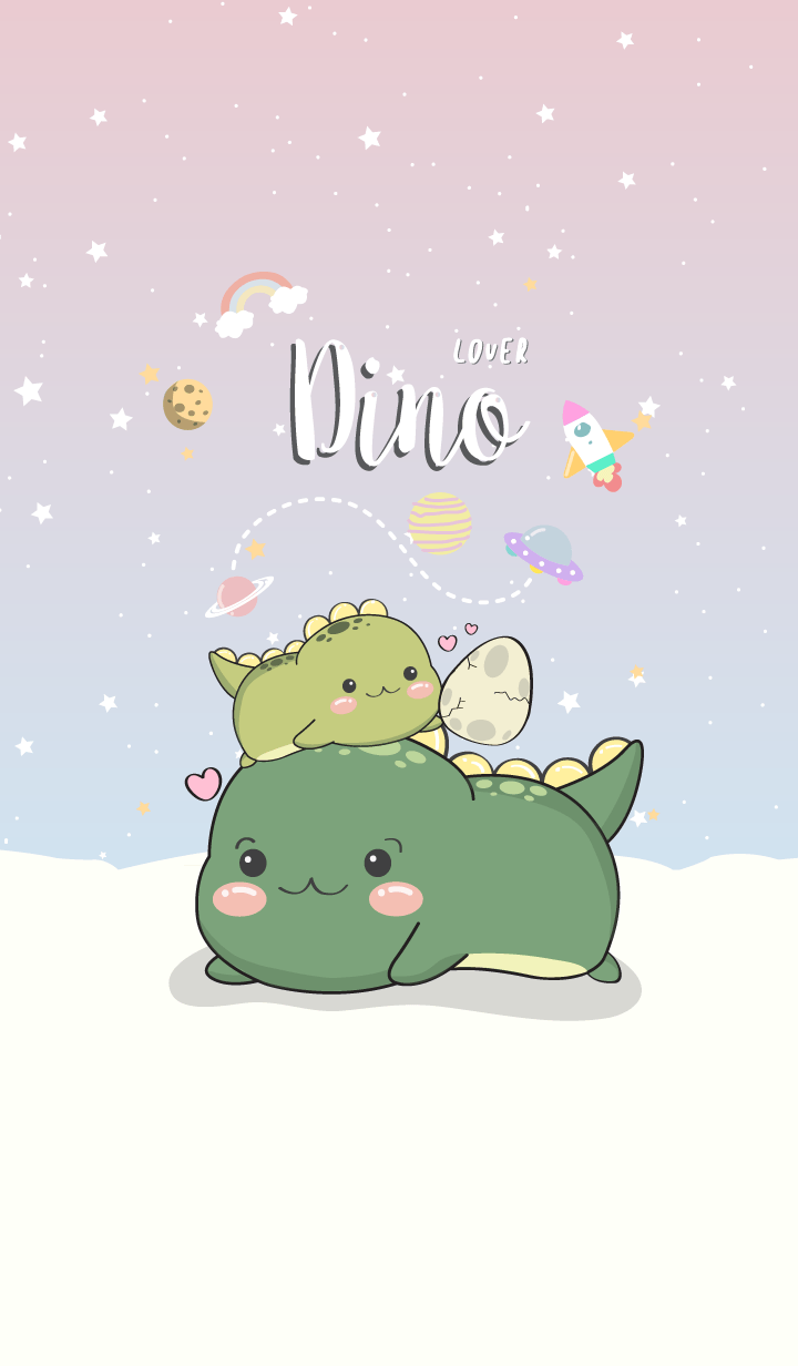 Dino Lover (pastel ver.2)
