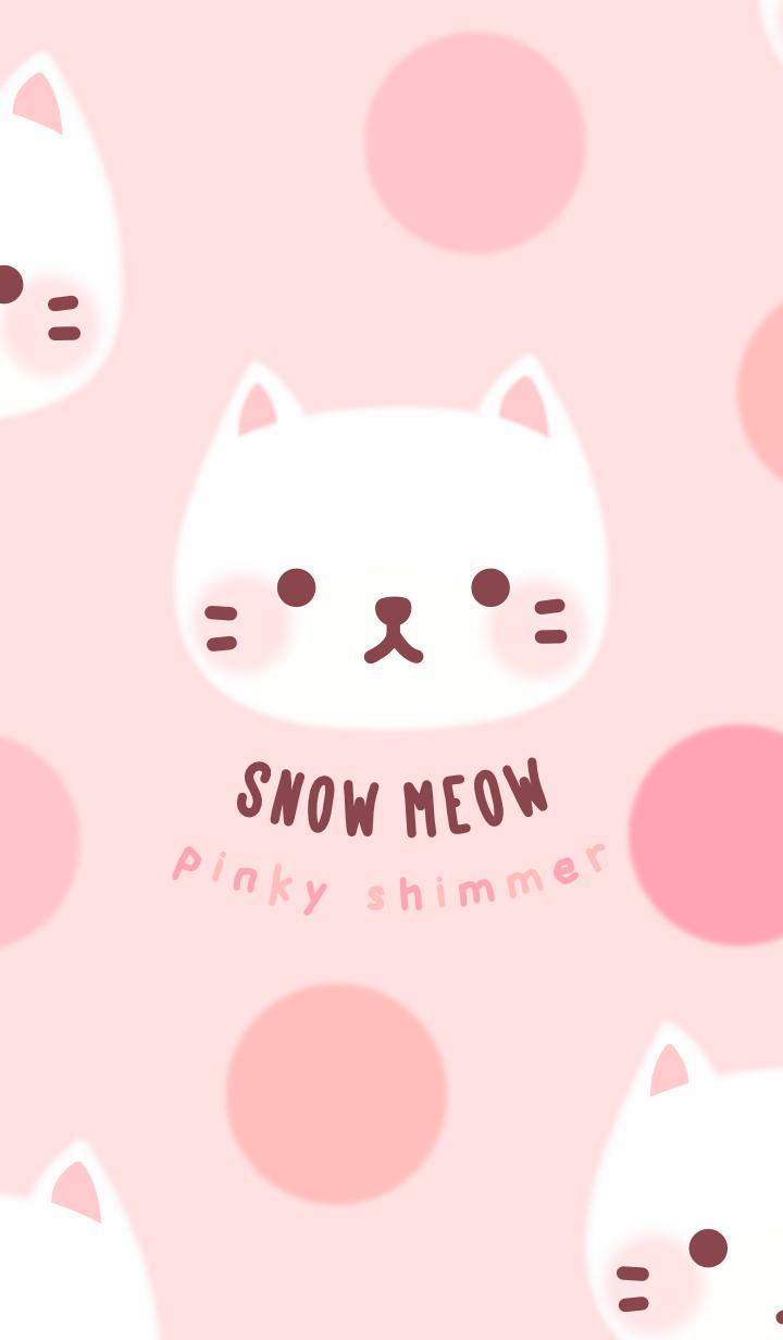 Snow Meow & Polka Dots: Pinky Shimmer