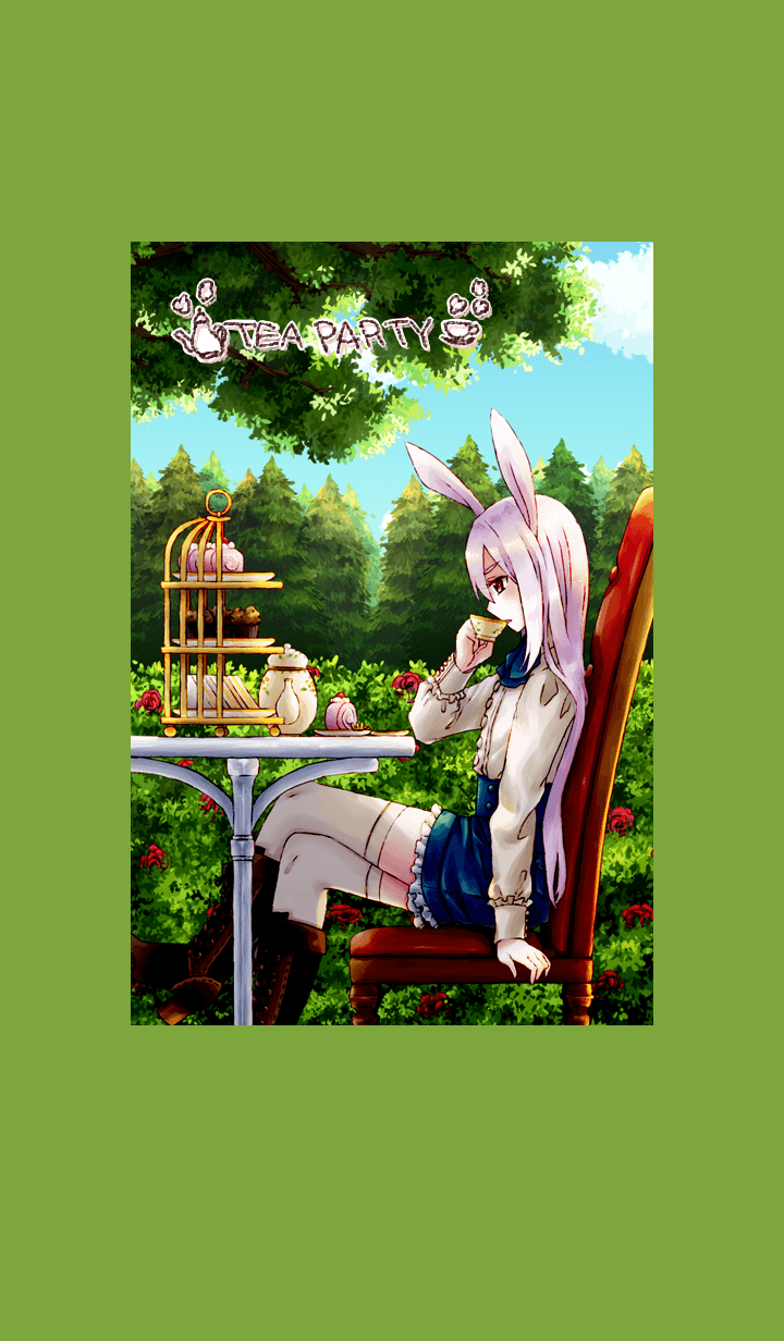 お茶会(メイ)