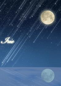 Irie Moon & meteor shower