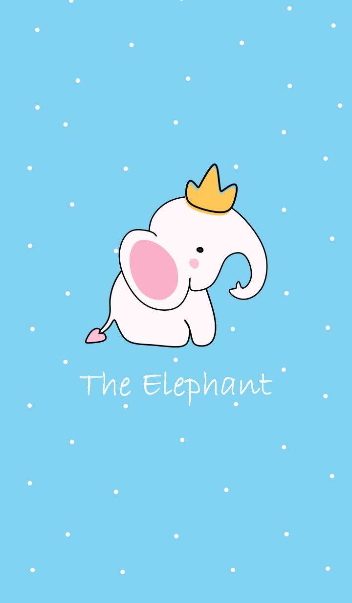 The Elephant Blue