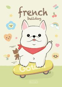 French Bulldog Chubby Cute.