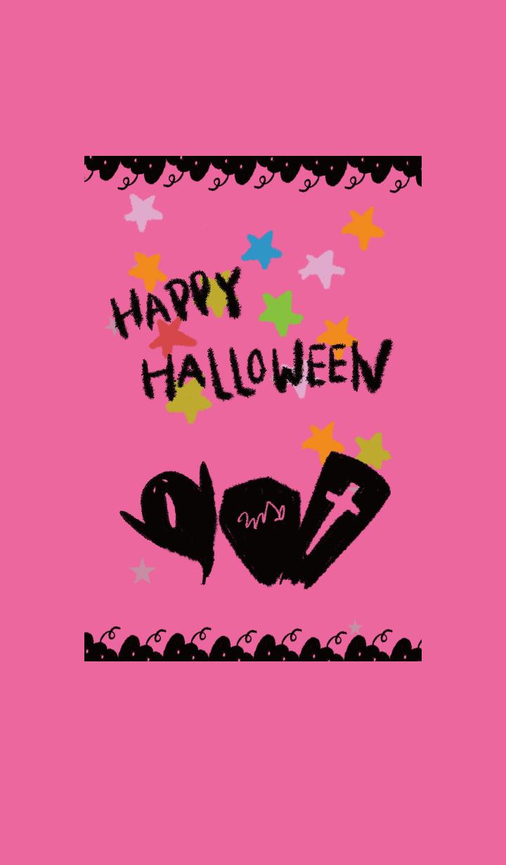 黒とピンク / ハロウィン2019