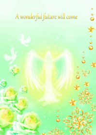 A happy life led by angels.