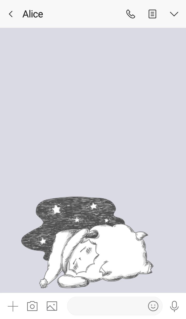 Good night, sheep(from Japan)