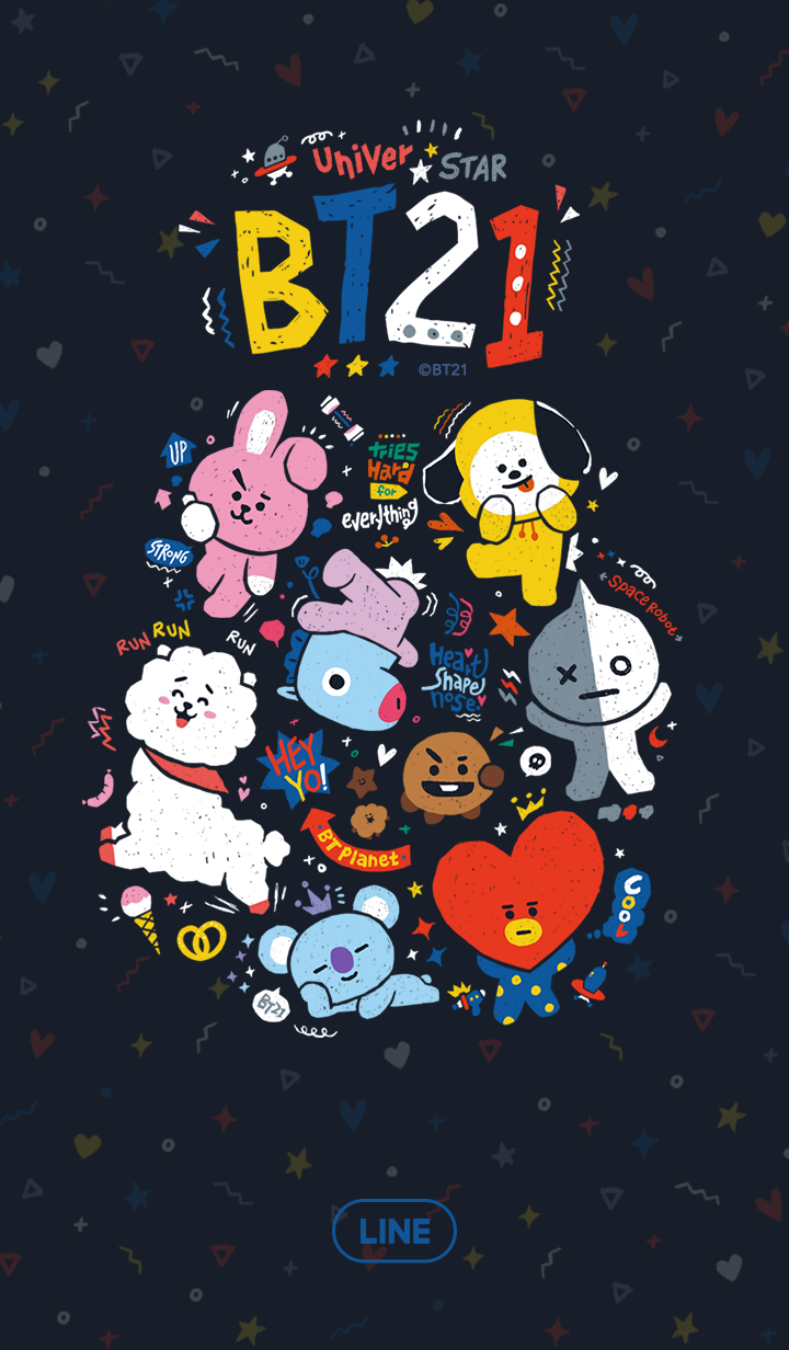 BT21: Pressed Colors