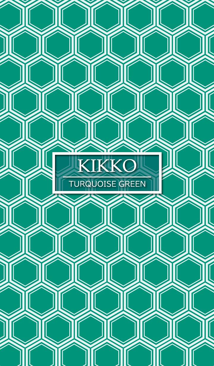 KIKKO Turquoise Green