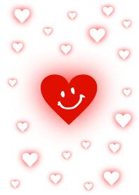 Heart smile - White-joc