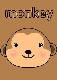 Cute Face Monkey theme