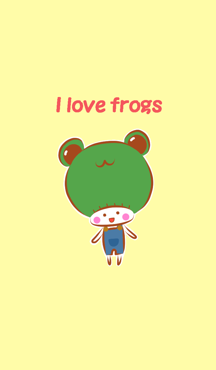 A boy who likes frogs