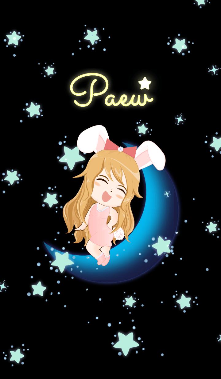 Paew - Bunny girl on Blue Moon