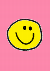 Smile face theme(pink)