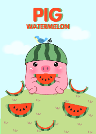 Pig And Watermelon theme