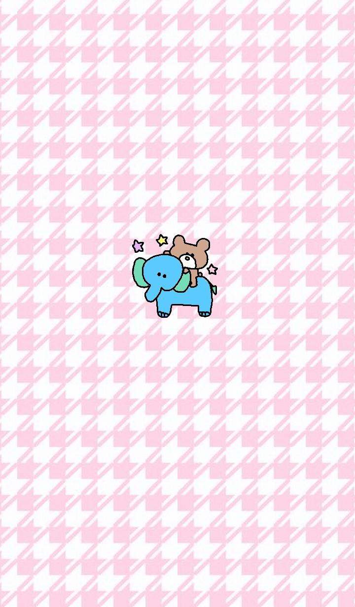 Bear theme x pink