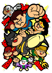 DC Super Heroes vs Eagle Talon!