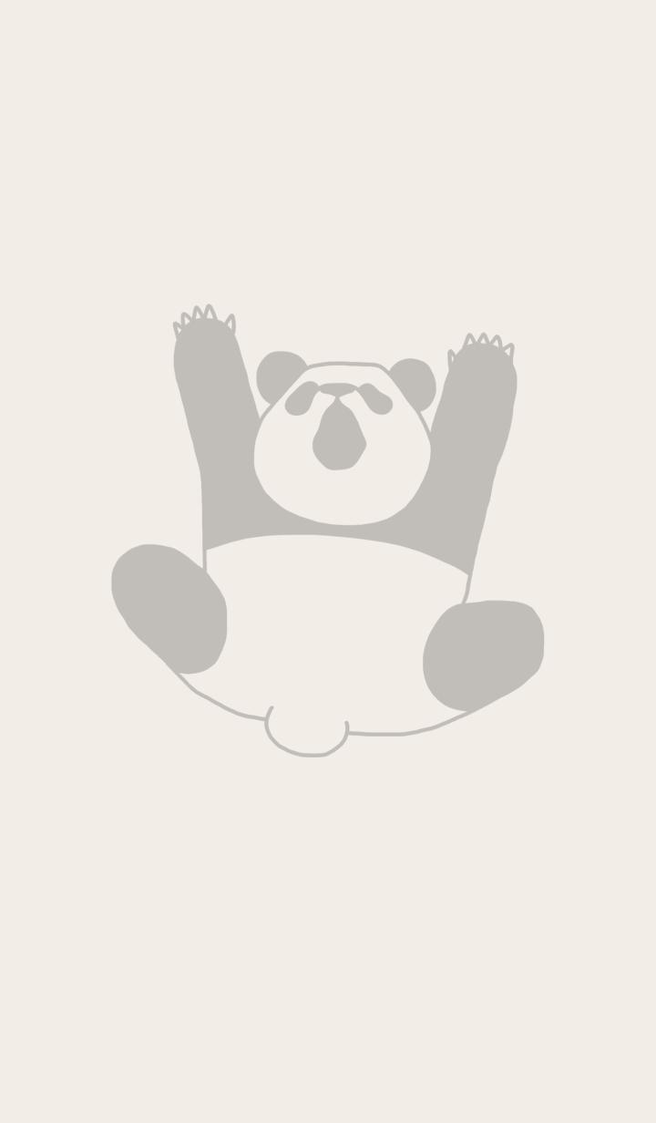 Falling panda