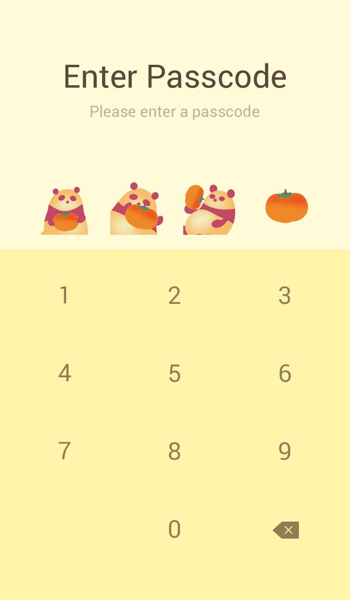 秋天的顏色*熊貓