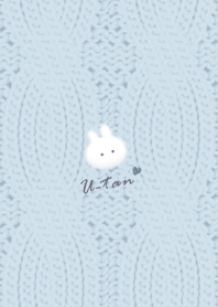Rabbit and Knit2 blue22_1