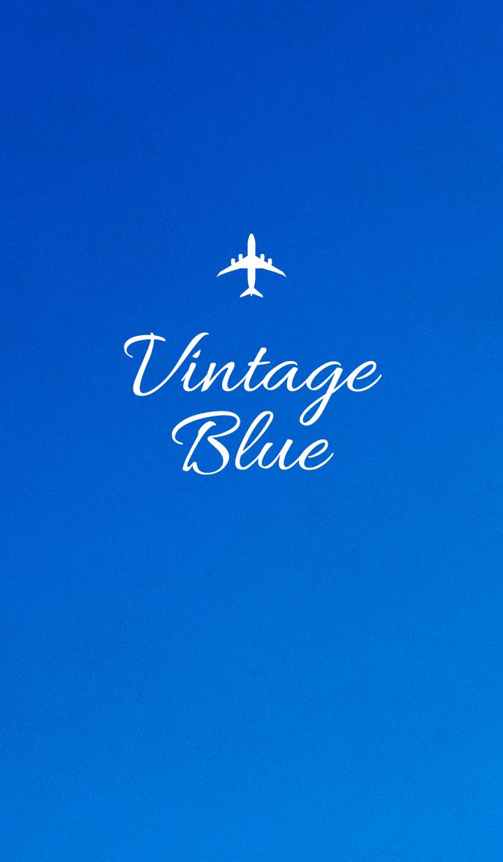 Vintage -Blue-.