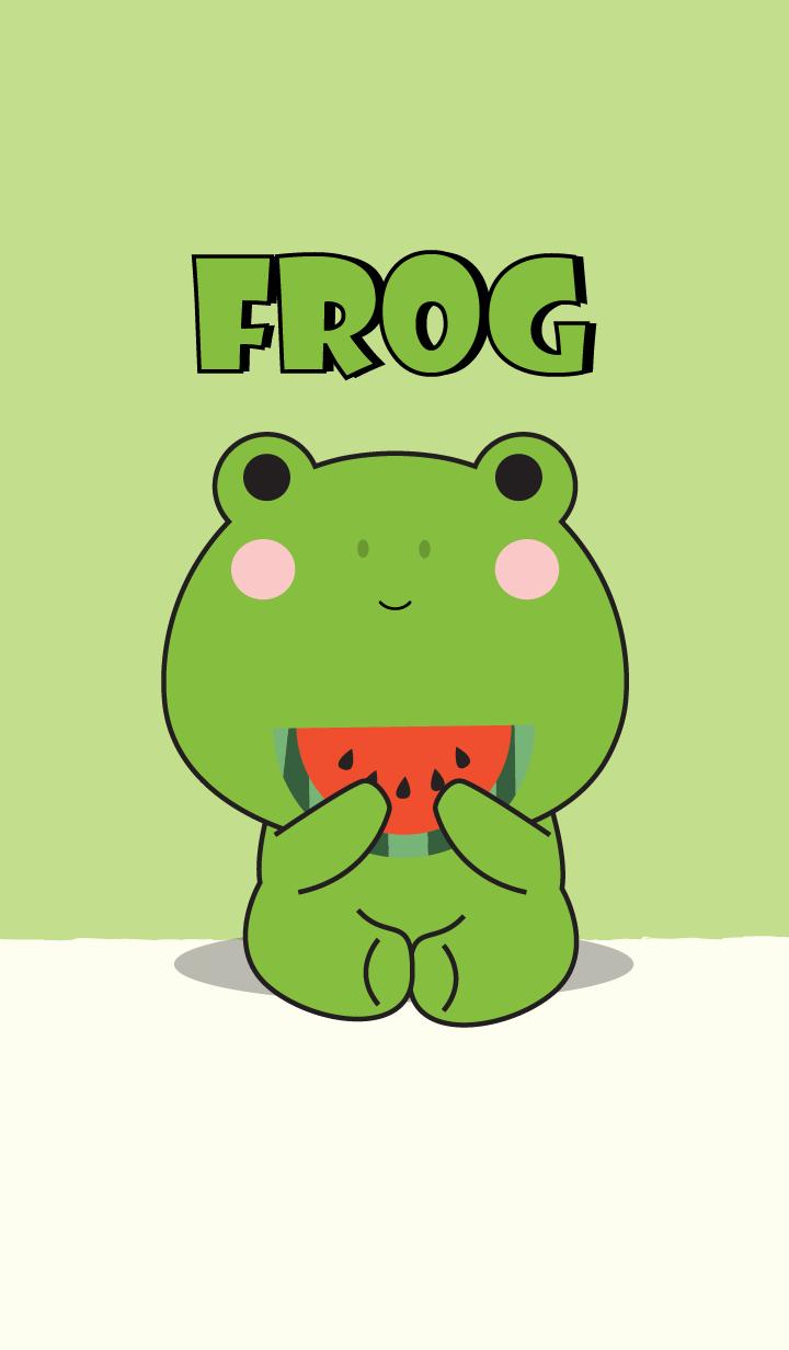 Simple Love Frog Theme Vr.2 (jp)