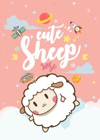 Cute Sheep Galaxy Rose