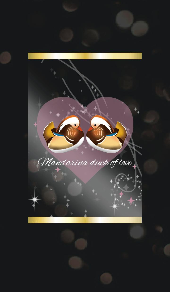 Black Pink / Love Luck UP Mandarin Duck