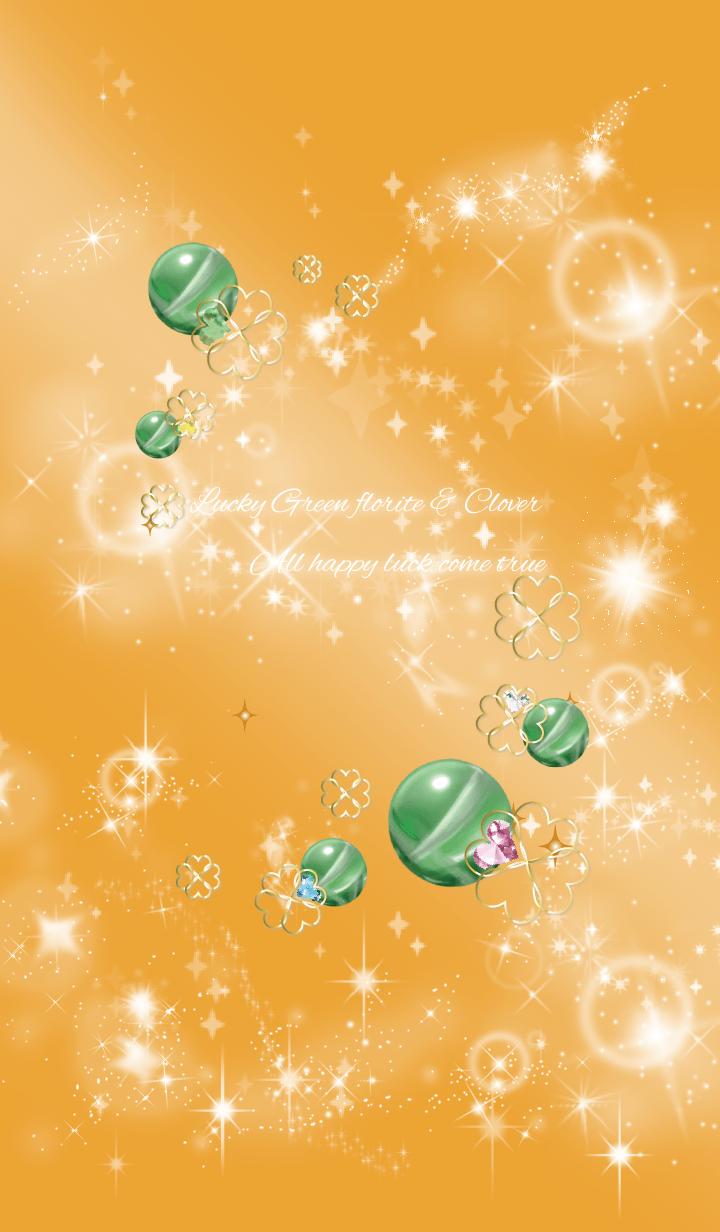 Orange: seafood stone green flow light
