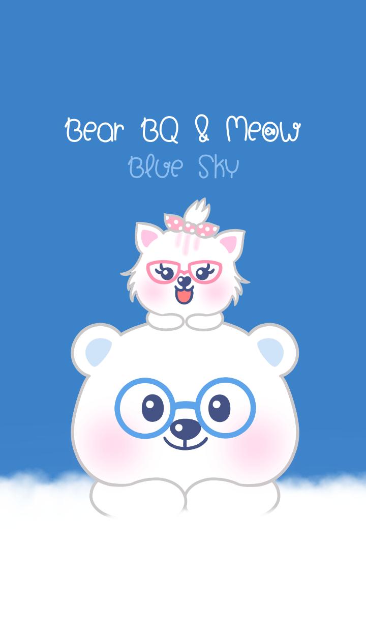 Bear BQ and Meow: Blue Sky