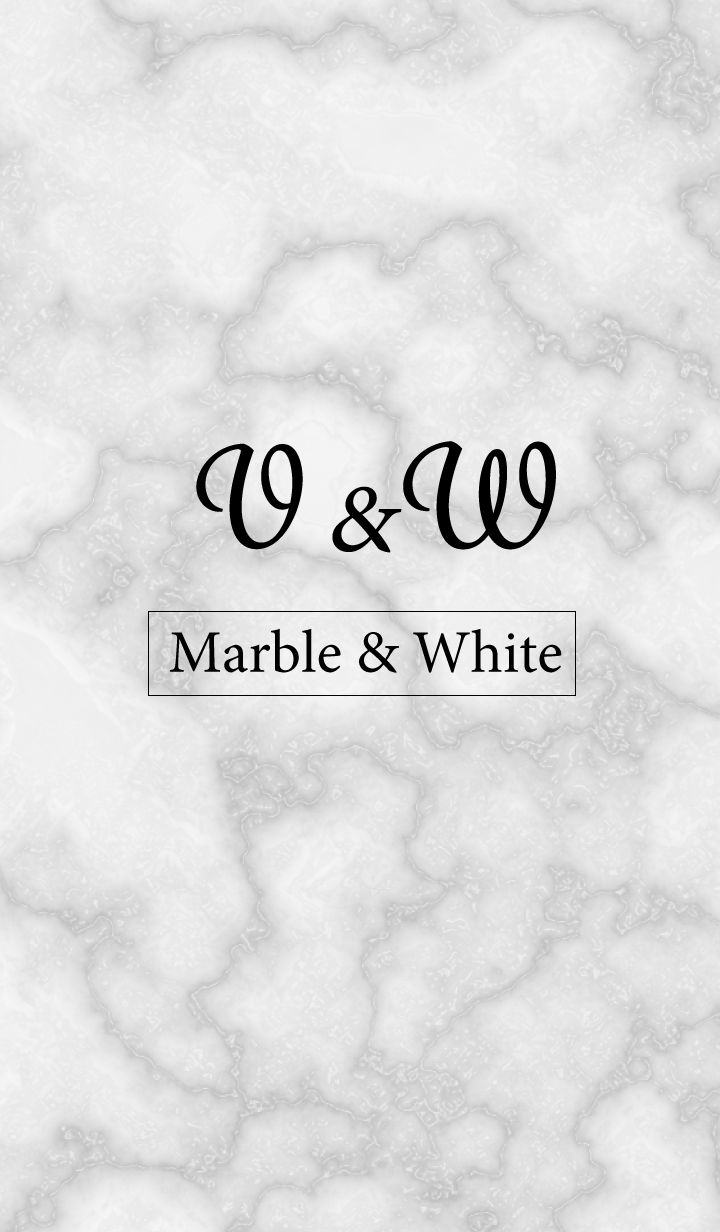 V&W-Marble&White-Initial