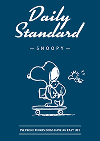 Snoopy Daily Standard(簡潔...