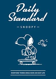 Snoopy Daily Standard(簡潔藍)