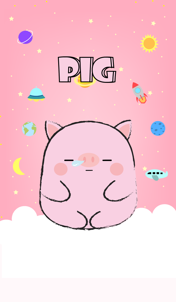 Emotions Pig On Galaxy (JP)