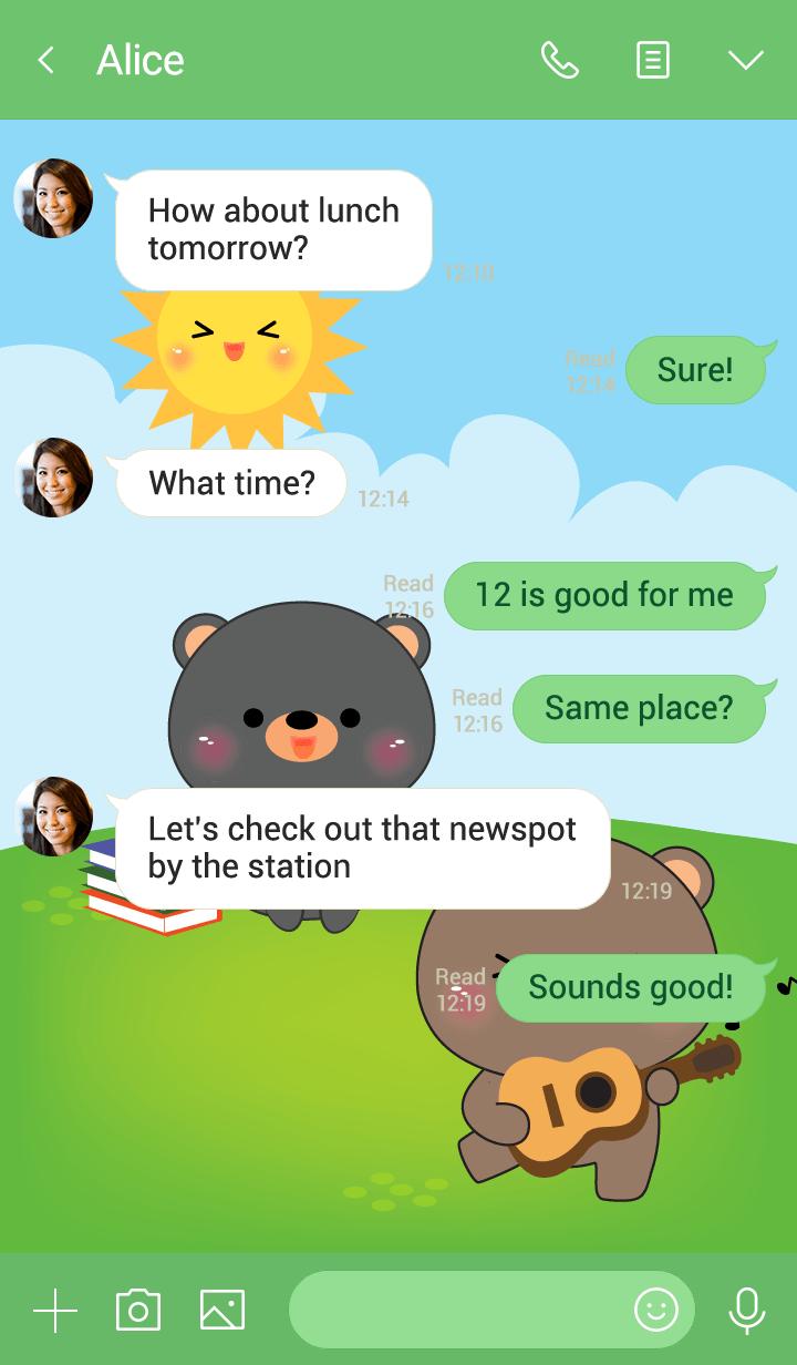 Free Time Bear 2