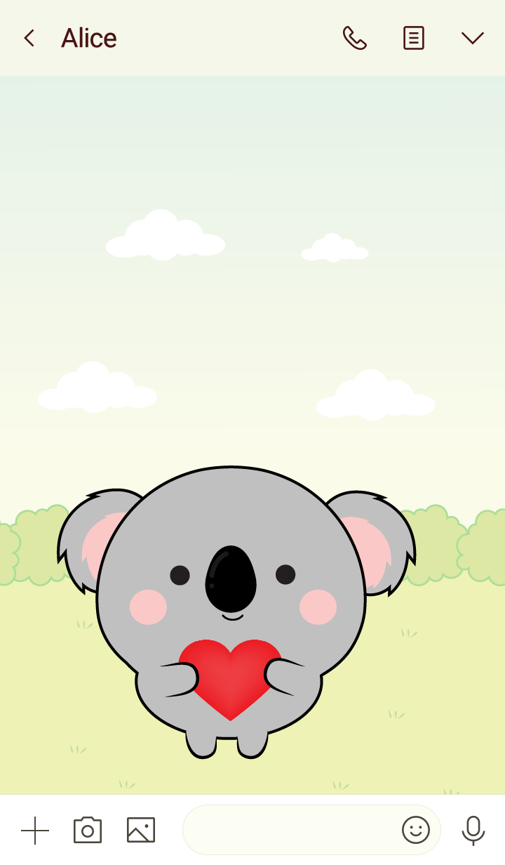 Mini Lovely Koala Theme (jp)