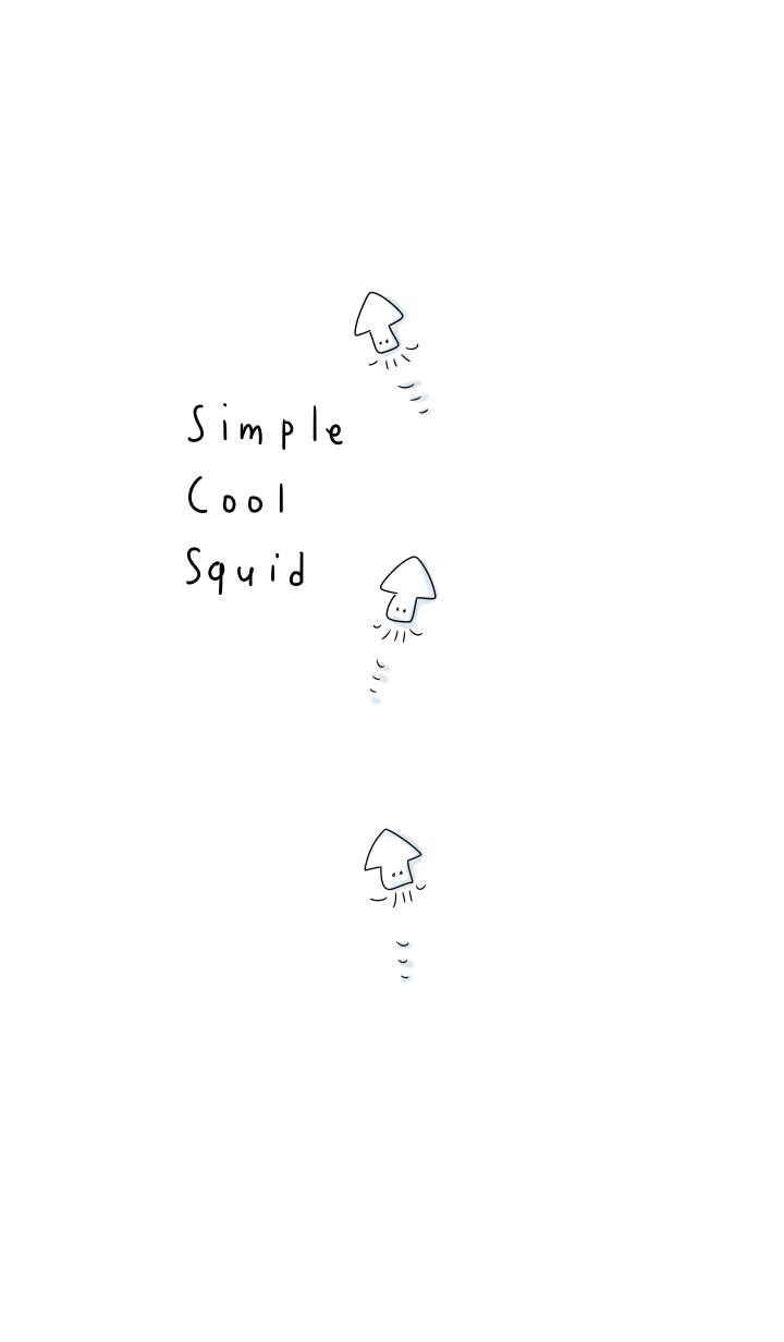 simple Cool squid