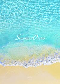 happy summer ocean