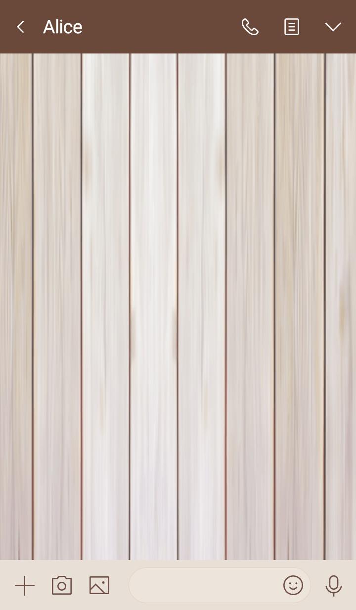 WHITE WOOD.. -SIMPIE DESIGN THEME- 2