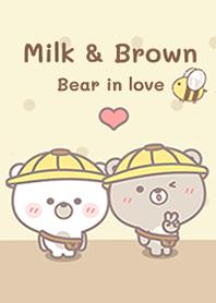 Milk&Brown in love