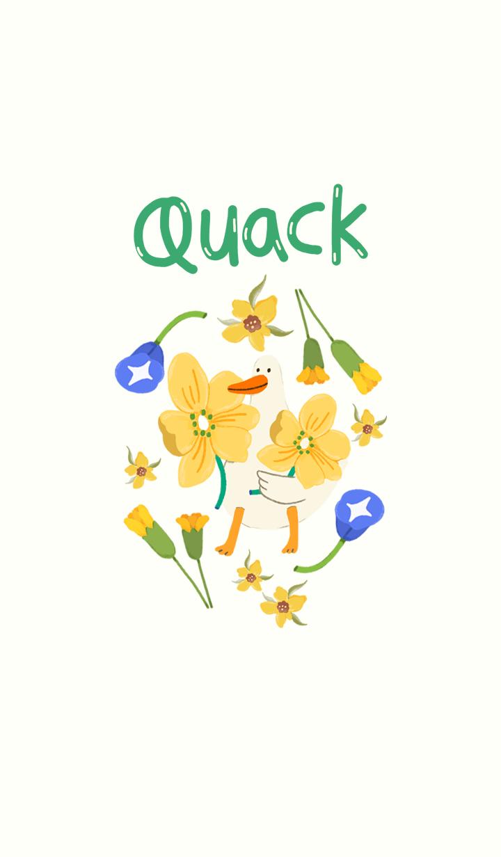 Quack: too flowery