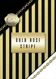 Gold rose stripe