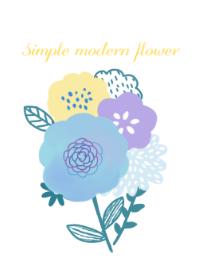 Simple modern flower3