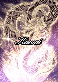 Kawai Fortune golden dragon