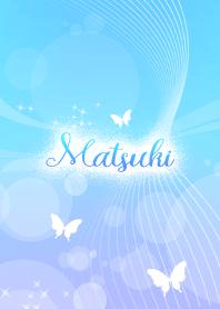 Matsuki skyblue butterfly theme