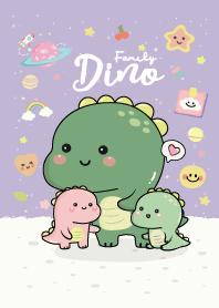 Dino Cutie Family Purple
